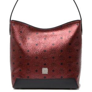 NWT - MCM Medium Spot Visetos Leather Hobo $625